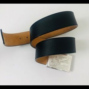 Louis Vuitton Silver Buckle Unisex Belt